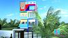 25 x 62 Ft.Front Elevation   3D Elevation   2bhk house plan (17.5m X 18.8m )plot House Design   Ghar Ka Naksha   House Plan Idea