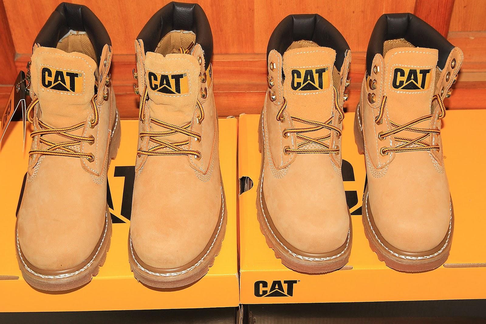 免費軟體資訊: 「敗家日記」CATERPILLAR (CAT) 取代 Timberland 經典黃靴