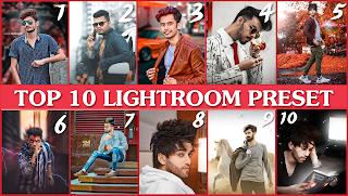 Top 10 lightroom mobile presets