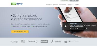 หาเงินออนไลน์ Testing Website กับ UserTesting