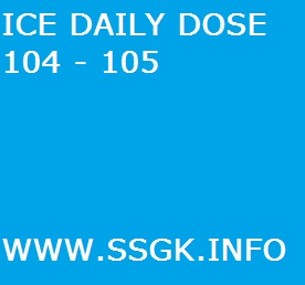 ICE DAILY DOSE 104 - 105