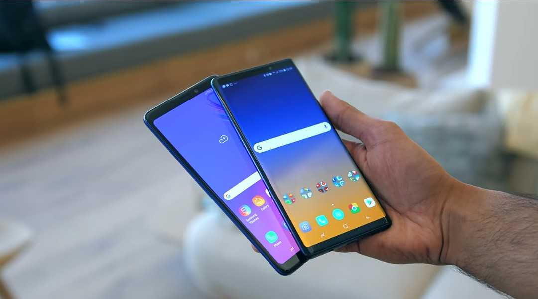 Samsung Galaxy A9 vs The Note 9.