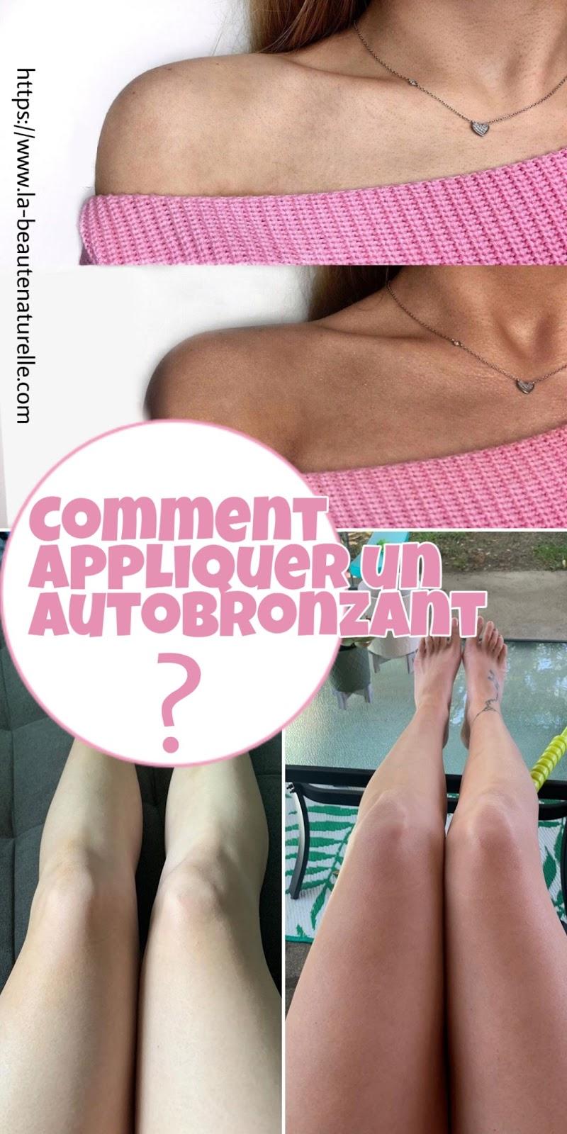 Comment appliquer un autobronzant ?