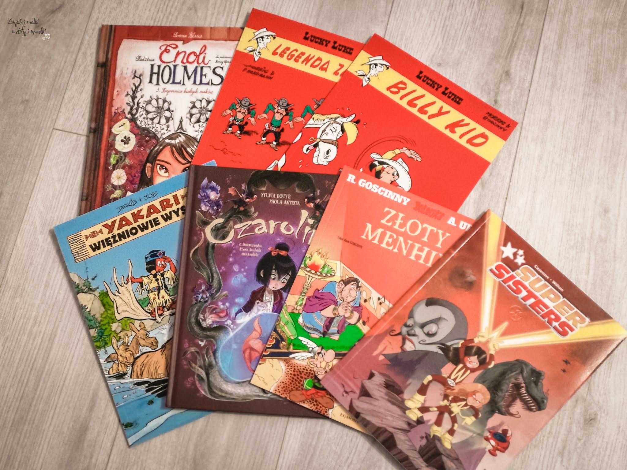 Noworoczne postanowienia - jeszcze więcej komiksów z Egmontu, Lucky Luke