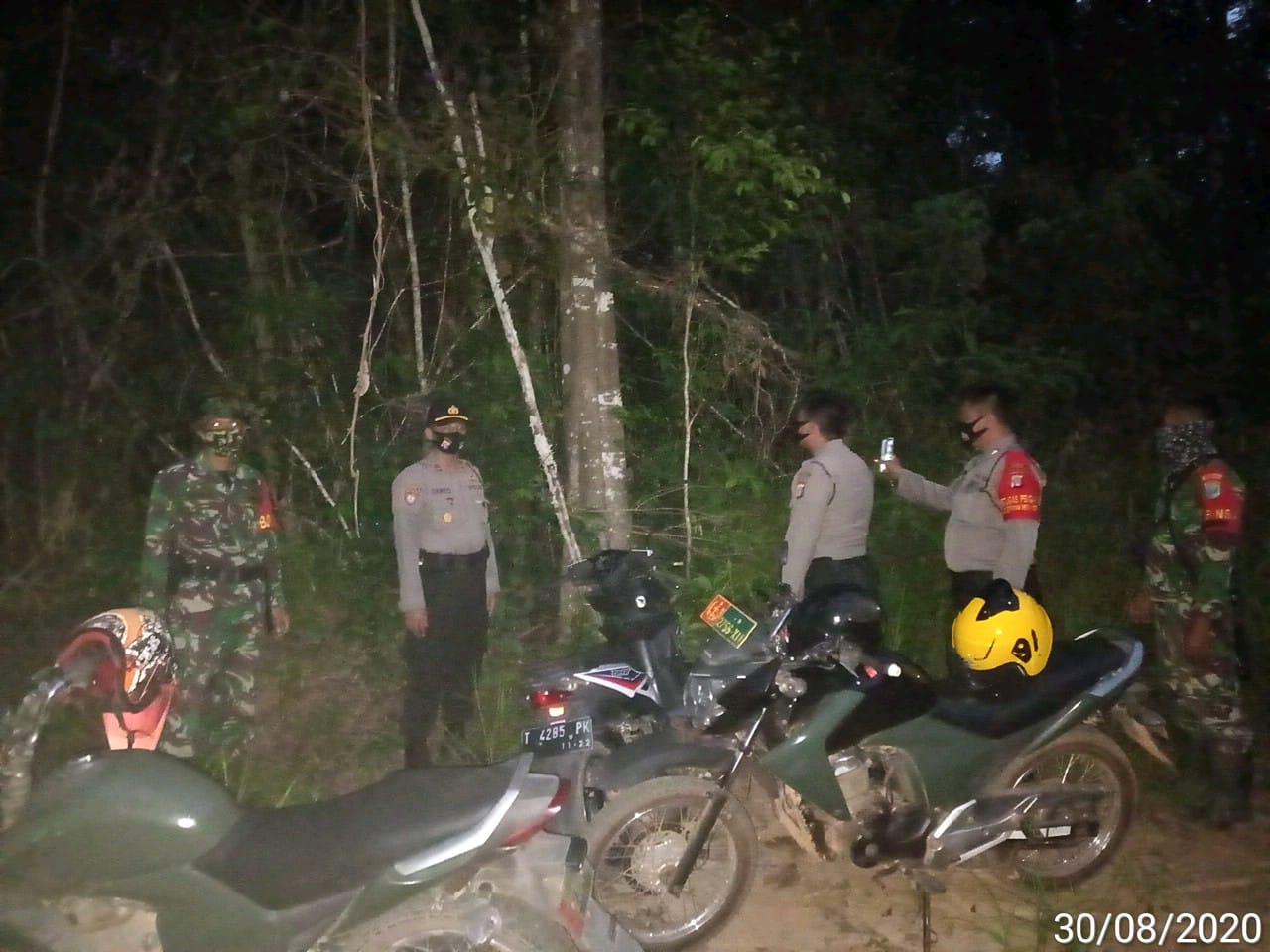 Polsek Permata Kecubung Tingkatkan Patroli Karhutla