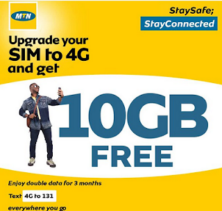 MTN Free 10GB data: Here is how to get yours