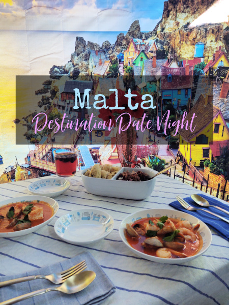 Our most recent staycation was to Malta, where we ate oceanside and listened to Maltese music.