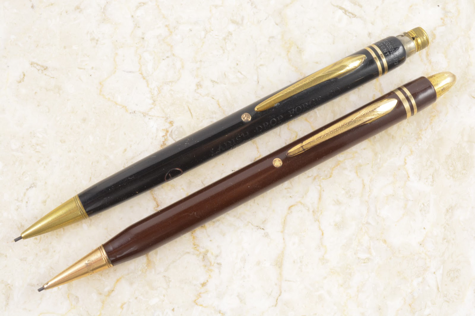 weird office supplies. In That Previous Article, I Had Commented On How The Black Example Combines Elements Of Several Late 1930s Repeating Pencil Designs Offered By Eversharp: Weird Office Supplies