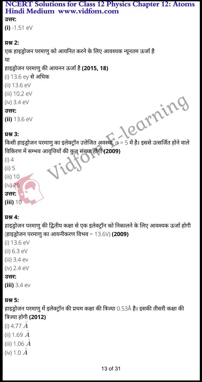 class 12 physics chapter 12 light hindi medium 13
