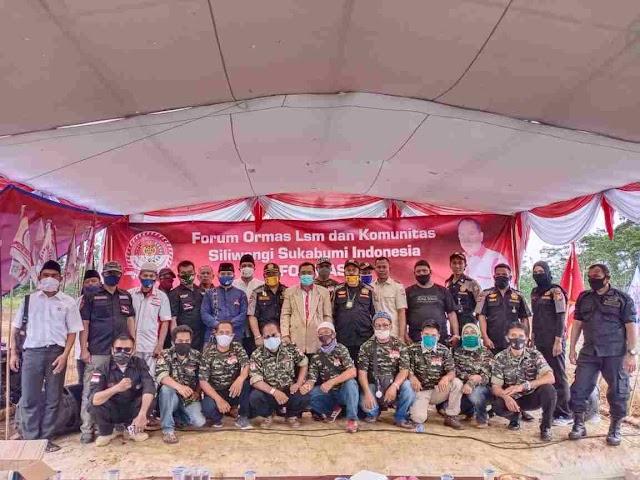Formasi Gelar Silaturahmi Akbar Antar Ormas ,LSM Dan Komonitas Pringati Maulid Nabi