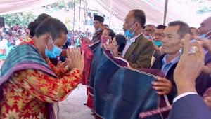 Rapidin Simbolon di Doakan dan Diberangkatkan Situmorang Menuju Pilkada Samosir