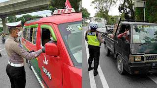 Tim Gabungan Satgas Covid-19 Sebar Ribuan Brosur Sosialisasi PPKM Darurat