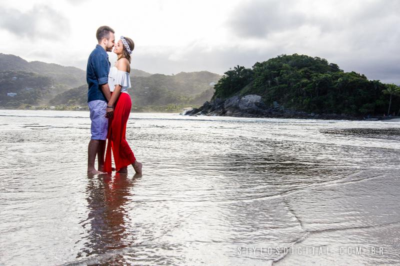 ensaio pre wedding praia