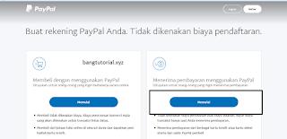 Daftar Paypal Bisnis