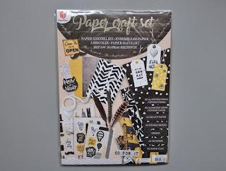 zakupy z action paper craft set zestaw kreatywny