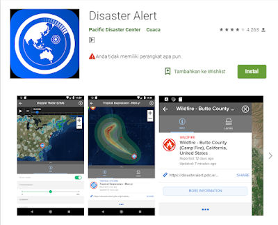 Aplikasi Pendeteksi Gempa Disaster Alert