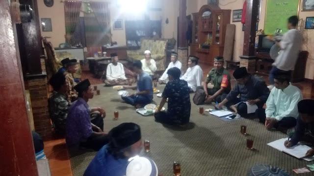 Babinsa Menghadiri Rapat Koordinasi Pembangunan Desa
