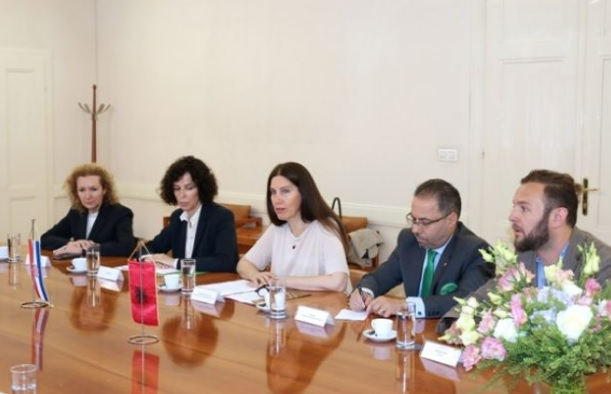 Signed in Zagreb the cultural cooperation program between Albania and Croatia