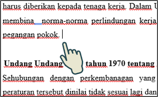 Cara Manual Menyisipkan Page Break 1