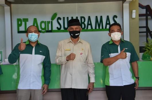 Dalam Silaturahmi dengan PT.Agri Sumba Mas, Wako H.Mahyeldi Janji  Berikan Rasa Aman Berinvestasi di Padang