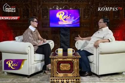 Presenter Rosi Ditolak Jadi Moderator Debat Pilpres, Karena Dianggap Dekat Dengan Prabowo?