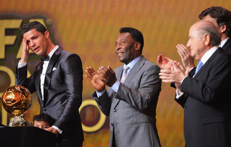 """Pelé: """"Najbolji fudbaler današnjice je Cristiano Ronaldo"""""""