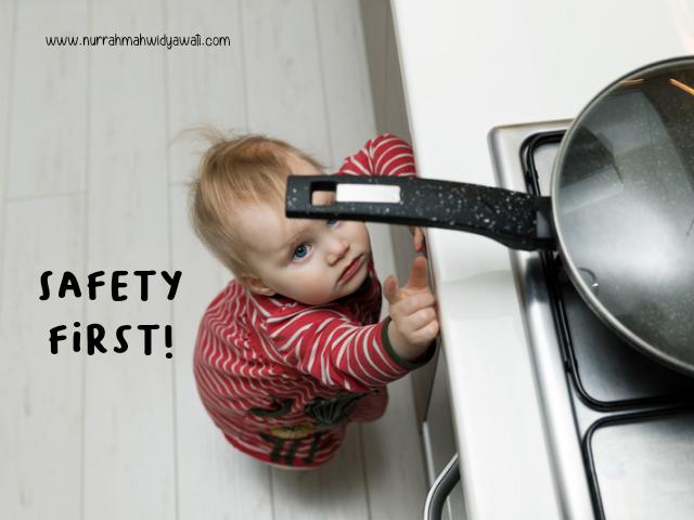 menganal aturan keselamatan anak di rumah
