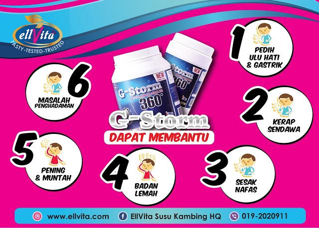 G-STORM 360 Penawar Gastrik Anda
