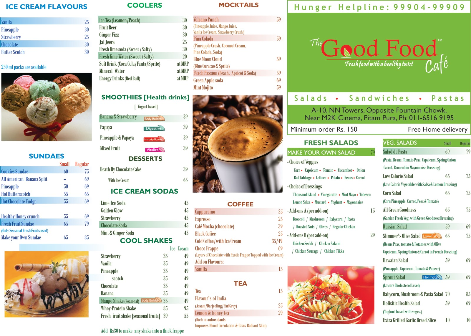 Try Food Lovers Diet Menu