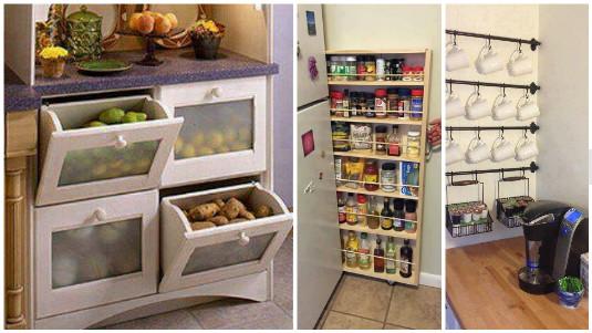Aprovechar el espacio en la cocina - Aprovechar espacio cocina ...