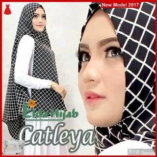 RYB040B Hijab Jilbab Cantik Khimar Murah Catleya BMG Online Shop