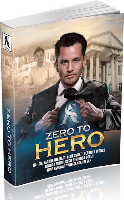 Aliff Syukri berkongsi rahsia bagaimana beliau menjadi kaya raya. Beliau bongkarkan rahsia kejayaan dalam bukunya zero to hero