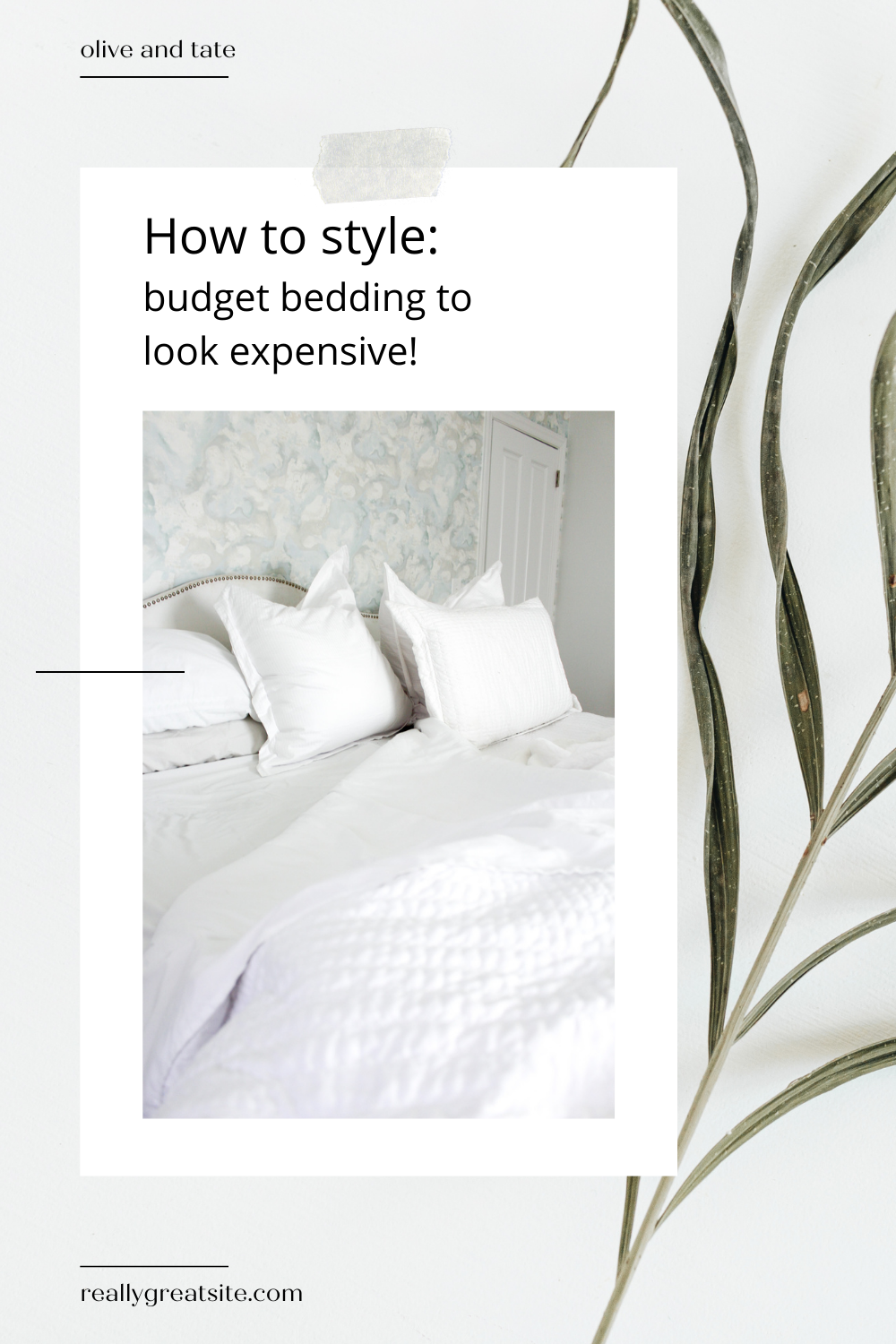How To Make Your Bedding Look High End (and the best of Amazon Bedding!)