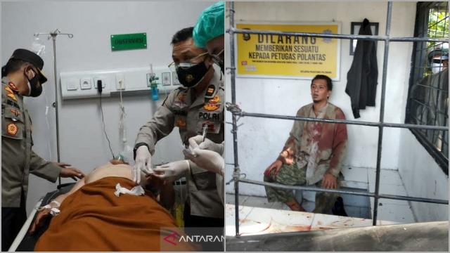 Pura-pura Tanya Alamat, Pria Misterius di Palembang Tusuk Polantas