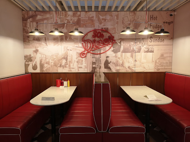 Retro dining at Broadway American Diner