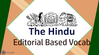 The Hindu Vocab 10th September 2018 For Competitive Exams.