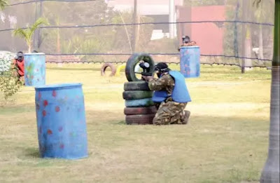 Paint Ball fight