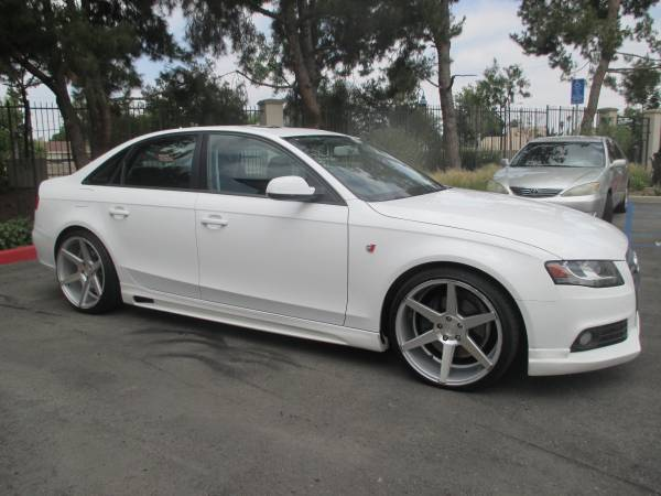 2010 Audi A4 Sport Package Auto Restorationice