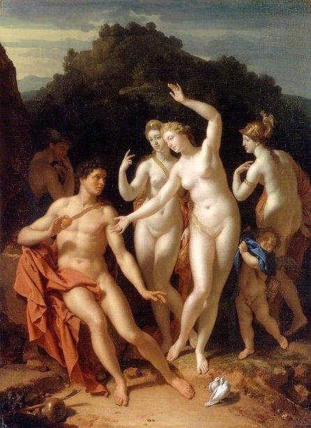 Adriaen van der Werff (1659-1722) - Суд Париса www.womanpaint.blogspot.ru