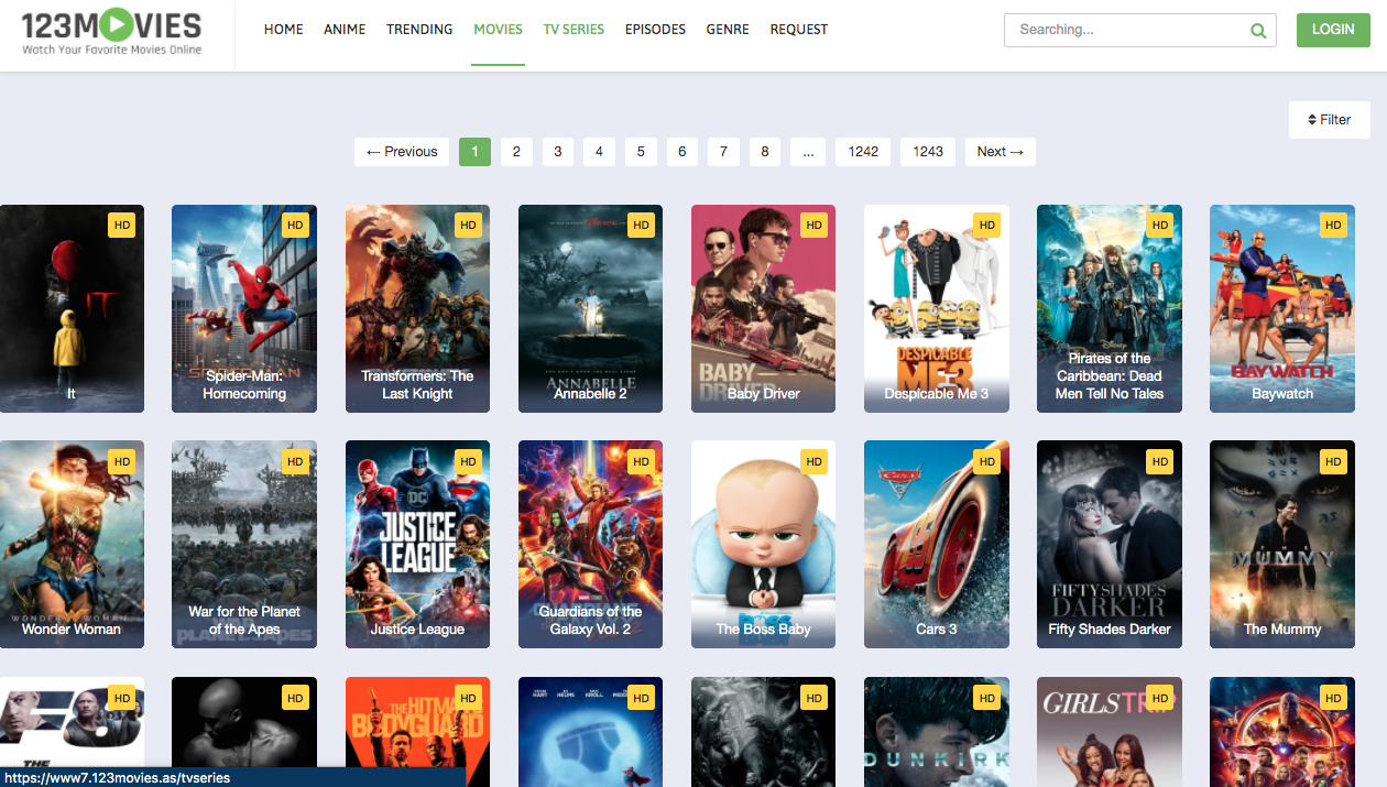 123movies websites(Putlocker Alternatives)