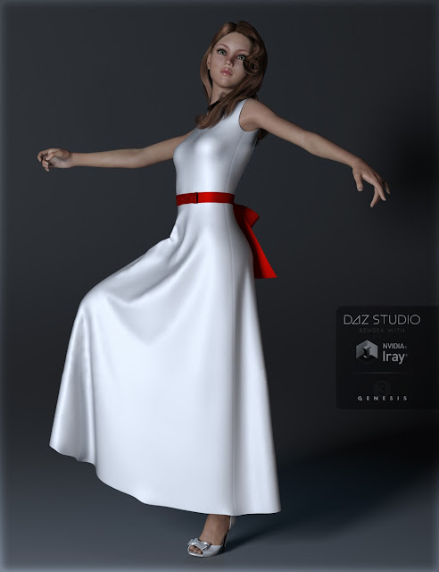 Simple Dresses Genesis 3 Female