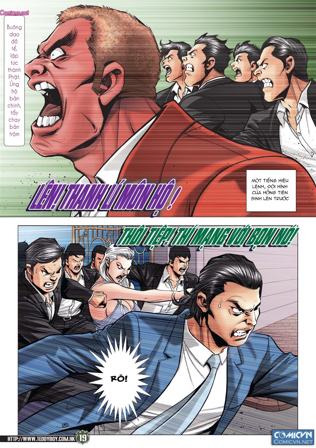 Người Trong Giang Hồ RAW chap 2085 - Trang 17