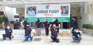 "Ahmad Fuady Peduli""  Sambangi Warga Terdampak."