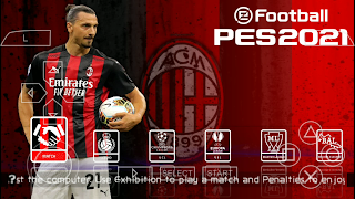 [500 Mo] PES 2021 PPSSPP Camera PS4 Edition (AC.MILAN) sur Android hors ligne