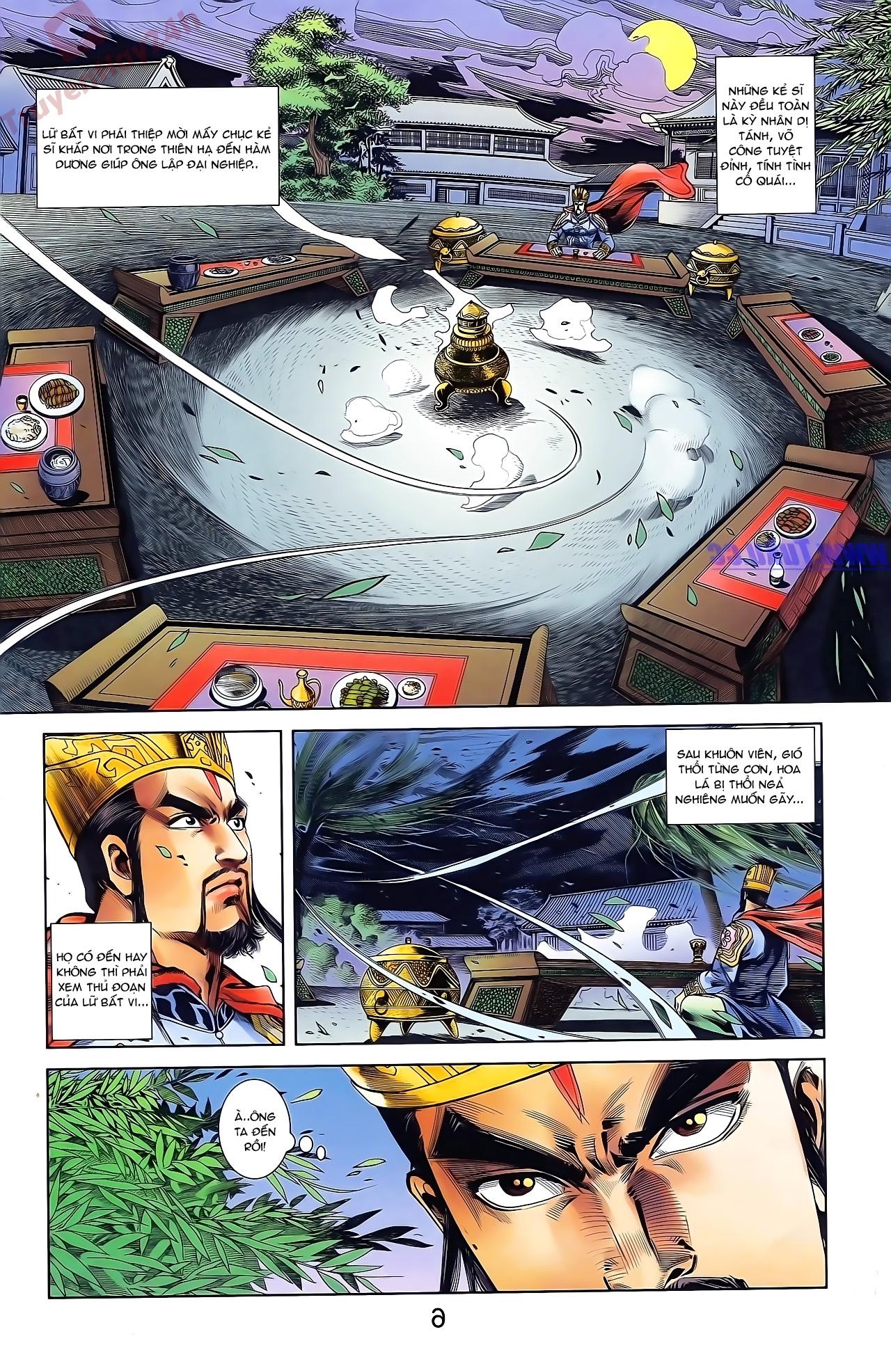 Tần Vương Doanh Chính chapter 42 trang 18