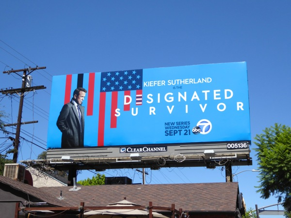 Designated Survivor series premiere billboard