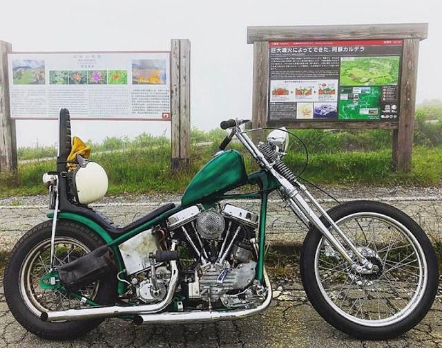 Harley Davidson Panhead By Shunsuke Matsuo Hell Kustom