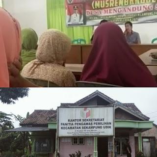 Kepala Desa Mengarahkan Pilih Paslon Nomor 2, Langgar UU Netralitas Dalam Pemilu, Oknum Kades Diduga Arahkan