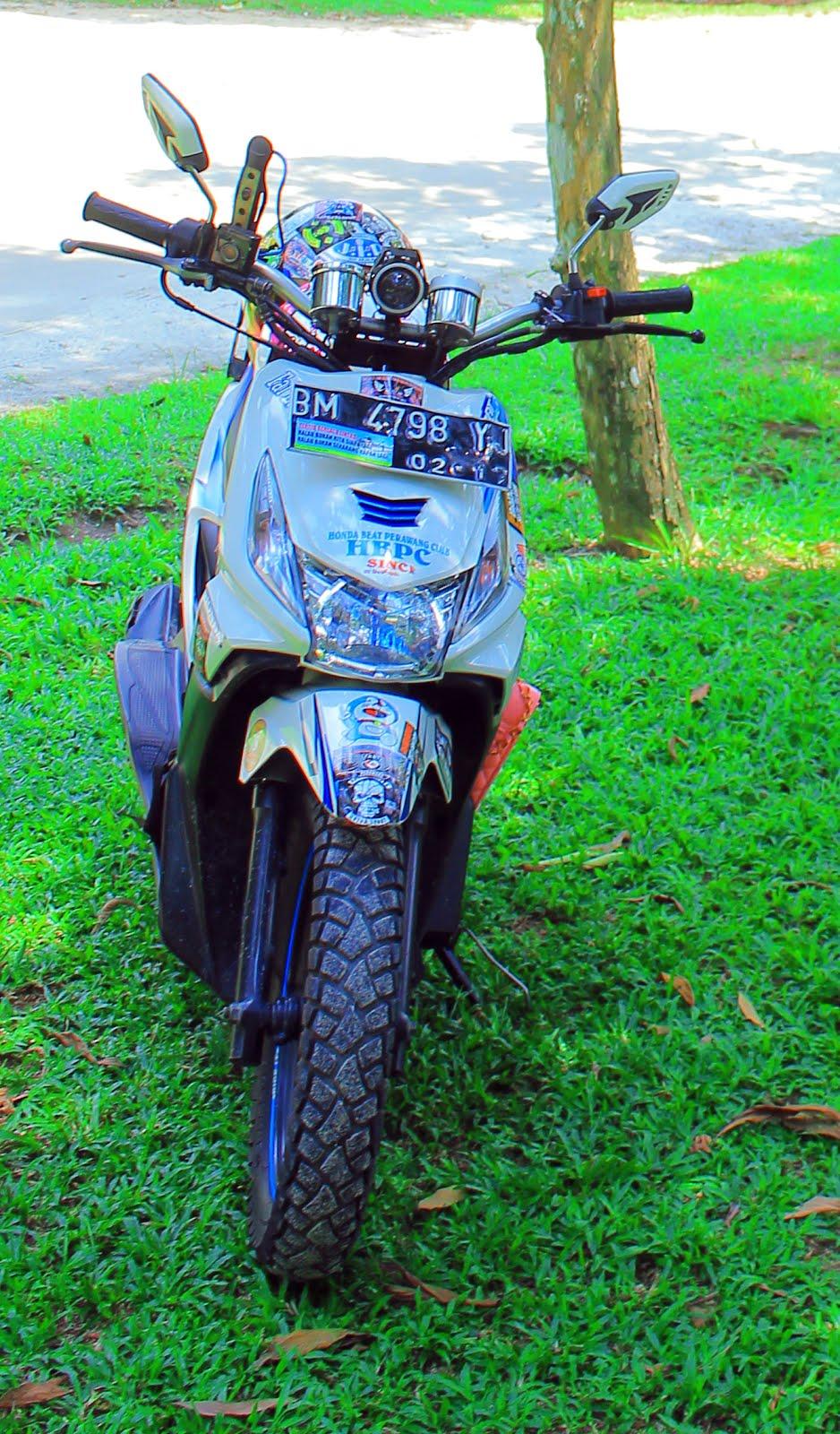 Kumpulan 70 Modifikasi Stang Motor Honda Beat Terbaru Dan