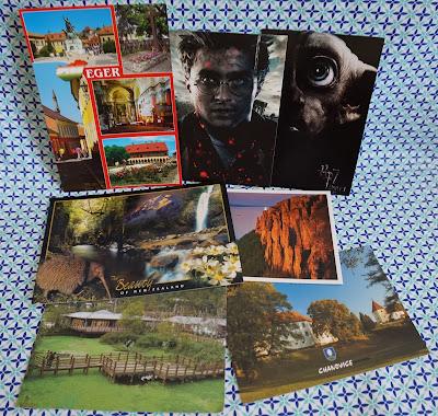 carte postale, postcrossing, bullelodie